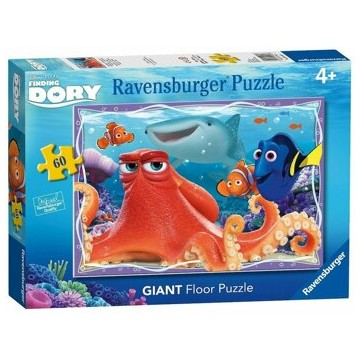 Puzzle podea Finding Dory, 60 piese