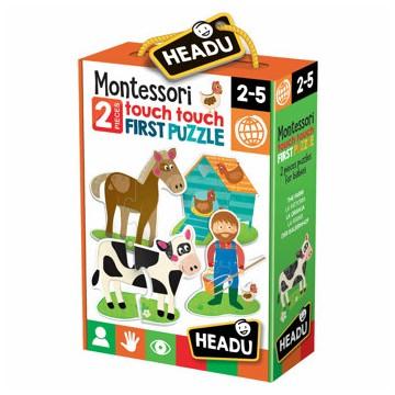 Montessori - Primul meu puzzle Atinge, atinge
