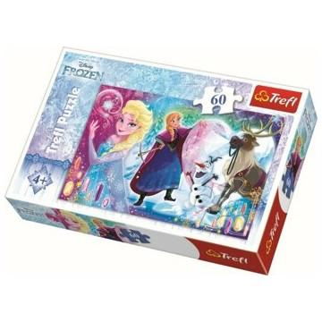 Puzzle Surpriza pentru Elsa, 60 piese