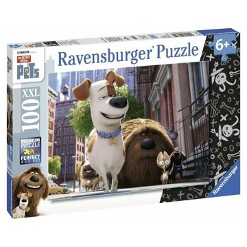 Puzzle The Secret Life of Pets, 100 piese