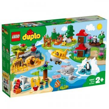 LEGO® DUPLO® - Animalele lumii (10907)