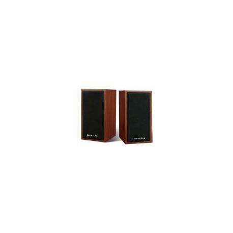 Mini boxe Senicc SN-465 (Design lemn maro)