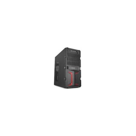 Carcasa Delux MV888-500W (Negru/Rosu)