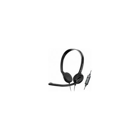 Casti cu Microfon Sennheiser PC 36 Call Control (Negre)