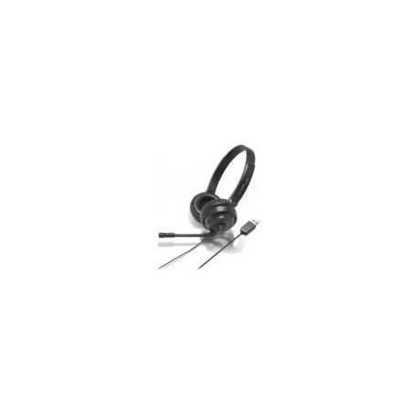 Casti cu fir Audio Technica ATH-750COM (Negre)