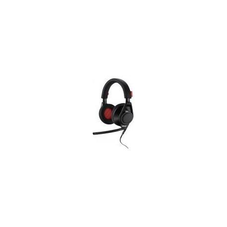 Casti cu microfon Plantronics RIG Flex, 2 microfoane incluse (Negre)
