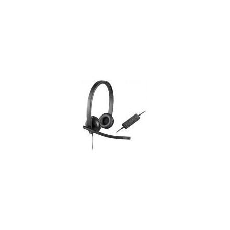 Casti USB Logitech H570e Stereo