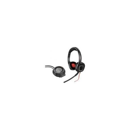 Casti Gaming Plantronics GameCom D60, Amplificator, Microfon (Negre)