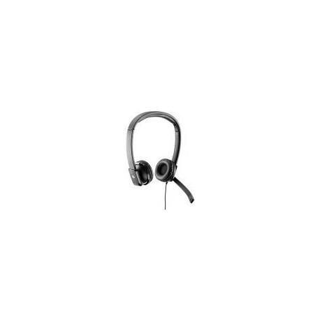 Casti cu Microfon HP Business QK550AA (Negre)
