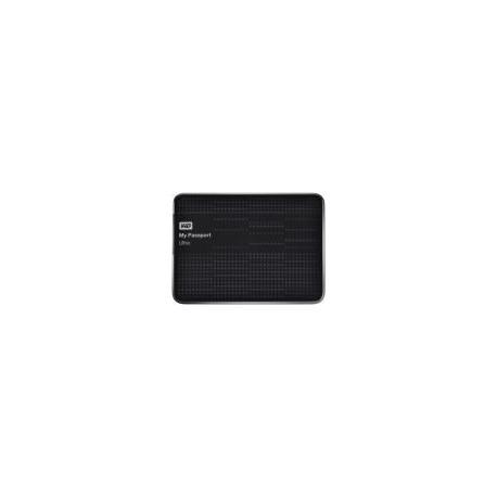 HDD Extern Western Digital My Passport Ultra, 500GB, 2.5inch, USB 3.0 si USB 2.0, Negru