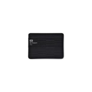 HDD Extern Western Digital My Passport Ultra, 1TB, 2.5inch, USB 3.0 si USB 2.0, Negru