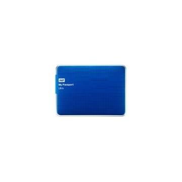 HDD Extern Western Digital My Passport Ultra, 1TB, 2.5inch, USB 3.0 si USB 2.0, Albastru
