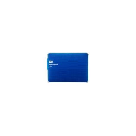 HDD Extern Western Digital My Passport Ultra, 2TB, 2.5inch, USB 3.0 si USB 2.0, Albastru
