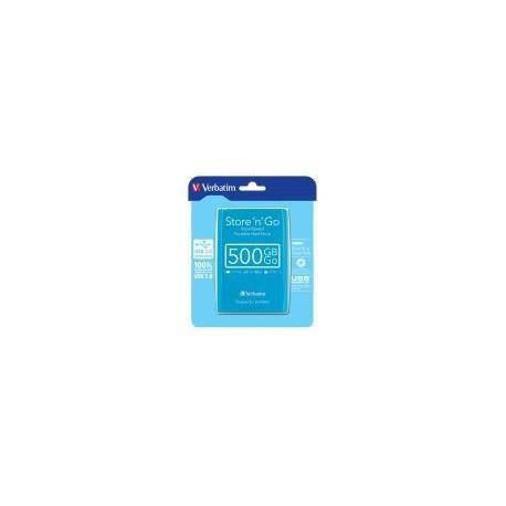 HDD Extern Verbatim Store'n'Go, 500GB, USB 3.0 (Albastru)