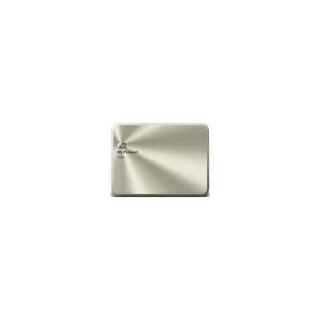 HDD Extern Western Digital My Passport Ultra Metal Edition, 1TB, 2.5inch, USB 3.0, Auriu